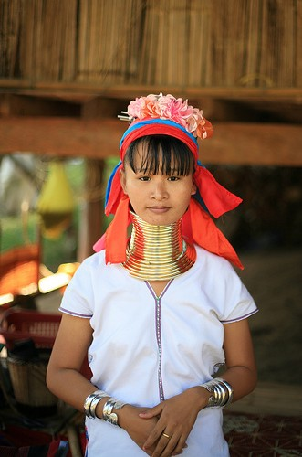 remarkable Burma girl