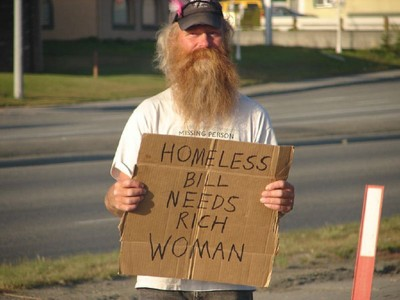 Golf Humor – The Homeless Man