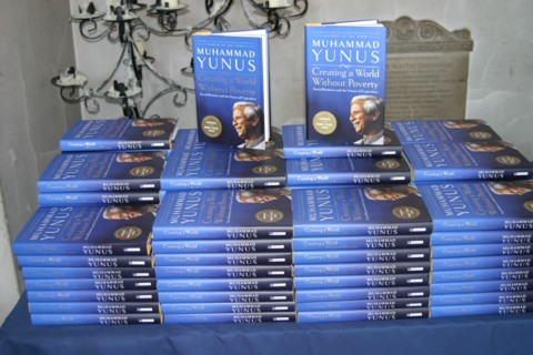 Professor Yunus's latest book