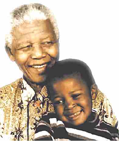 Mr Nelson Mandela, 90 years old but young at heart!